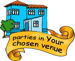 Kids parties at a venue of your choice