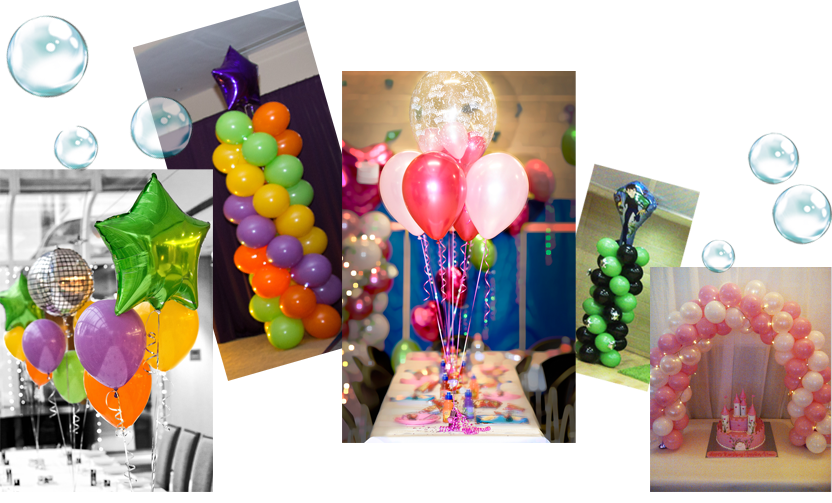Balloon Decoration for your Kids Party