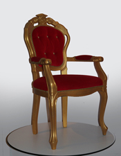Throne large (Red)