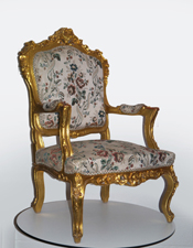 Luxury Tapestry Throne