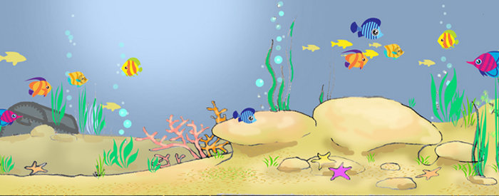 Kids party Scenery&Theming/party-venue-decoration/underwater