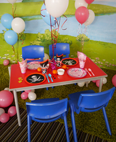 Table And Chair Hire For Your Kids Party